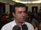 Ato em defesa de Freixo critica imprensa e reúne 200 pessoas no Rio