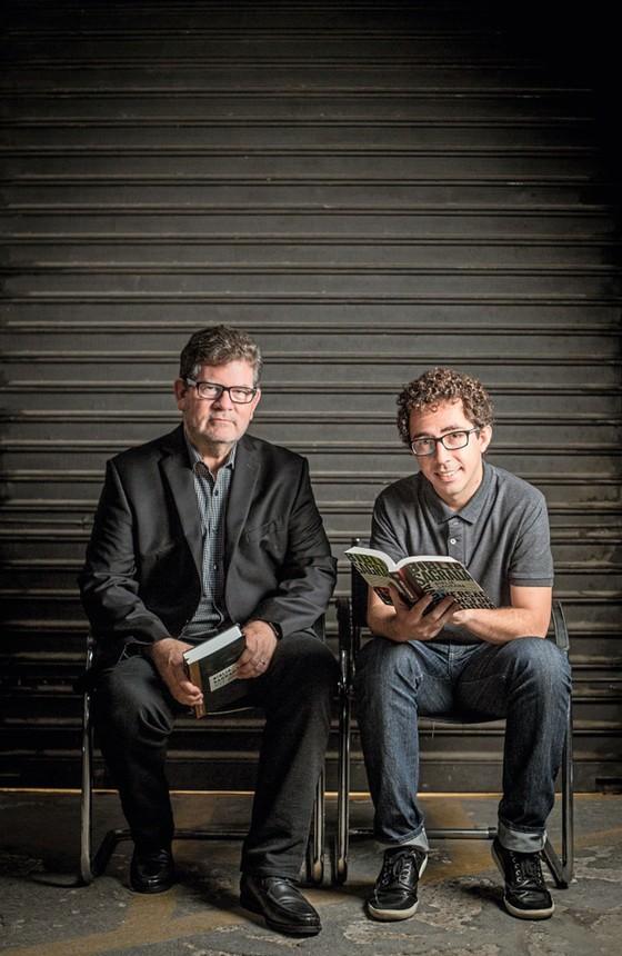 Mark Carpernter e Daniel  Faria,o presidente e o editor de bíblias da Mundo Cristão (Foto: Anna Carolina Negri/ÉPOCA)