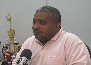 Petronilo Lopes, o Pelezinho, secretário adjunto de Esporte (Foto: Reprodução/TV Acre)