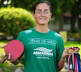 tênis de mesa amazonas (Foto: Michael Dantas /Sejel)