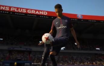 Novo trailer de gameplay do Fifa 18 mostra Neymar com camisa do PSG