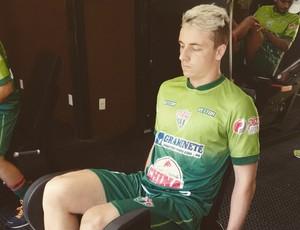Fabiano Weege, meia do Rio Branco VN (Foto: Divulgação/Rio Branco FC)