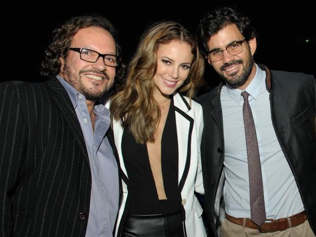 Wolf Maya ao lado de Paolla Oliveira e Juliano Cazarré (Foto: Amor à Vida / TV Globo)