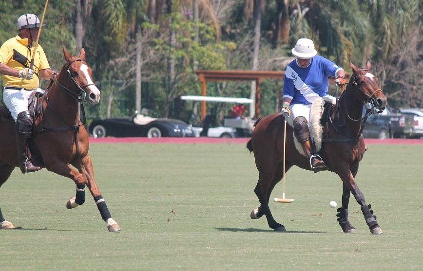 PG Meirelles em ação; o jogador será o grande homenageado do Grand Polo (Foto: 30 Jardas)