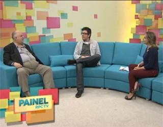 Painel RPC TV (Foto: Reprodução)