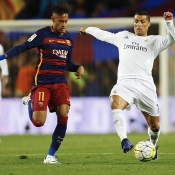 Neymar Cristiano Ronaldo Barcelona Real Madrid (Foto: Alejandro García / EFE)