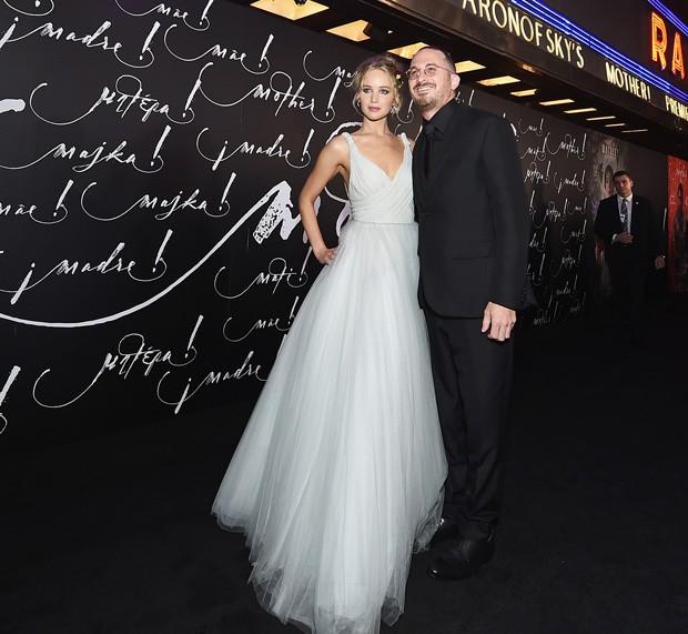 O casal Jennifer Lawrence e Darren Aronofsky (Foto: Getty Images)