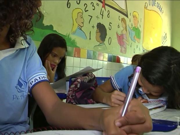 Programa é desenvolvido para crianças do quarto e quinto ano do ensino fundamental (Foto: Reprodução/TV Mirante)