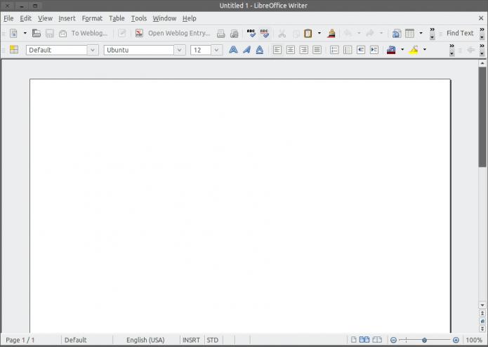 Esse é o LibreOffice Writer, que se parece bastante com o Microsoft Word de 10 anos atrás (Foto: Reprodução/ Lu Fávero) (Foto: Esse é o LibreOffice Writer, que se parece bastante com o Microsoft Word de 10 anos atrás (Foto: Reprodução/ Lu Fávero))