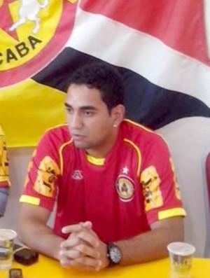 Boquita, ex-Corinthians, reforço do Atlético Sorocaba (Foto: Emílio Botta)