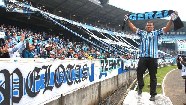 Fabrício Werdum, Grêmio (Foto: Lucas Uebel / Grêmio FBPA)