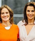 Carol Wambier e Leila Bittencourt