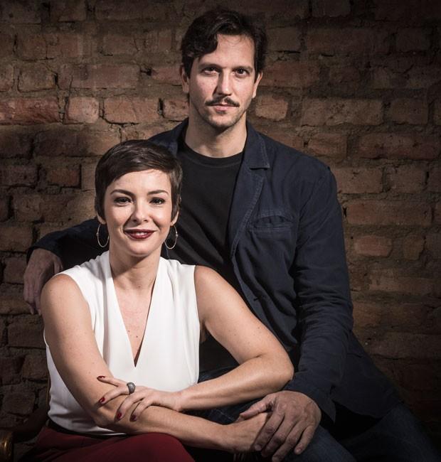 Regiane Alves e Vladimir Brichta são os protagonistas de 'Cidade Proibida' (Foto: Divulgação/TV Globo)
