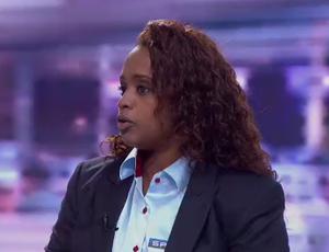 Daiane dos Santos, comentarista do SporTV (Foto: Reprodução SporTV)