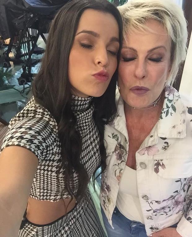 Emily e Ana Maria Braga (Foto: Instagram / Reprodução)