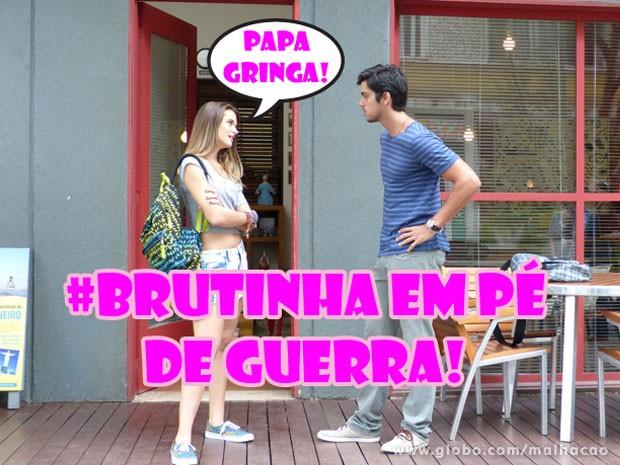 Climão de figth. Quem curte? (Foto: Malhação / Tv Globo)