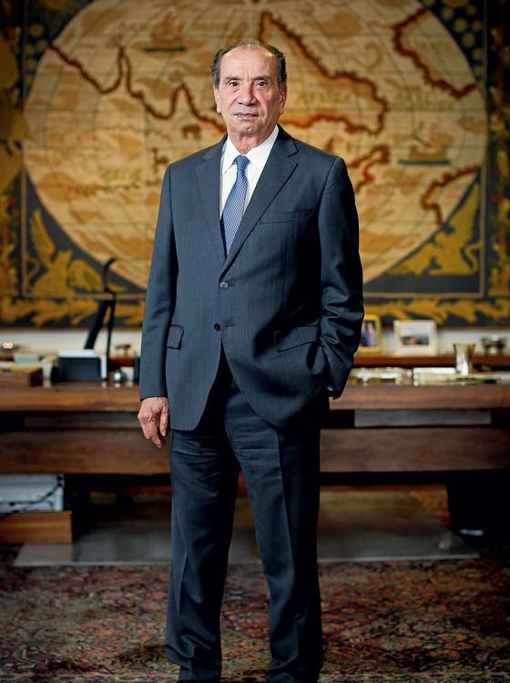 Aloysio Nunes Ferreira,em seu gabinete no Itamaraty (Foto: Sérgio Lima/ÉPOCA)