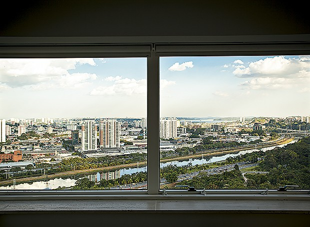 O Panamby oferece vista privilegiada da Marginal Pinheiros (Foto: Gui Morelli/Editora Globo)