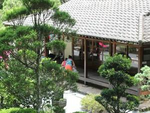 Recanto Japonês passa por reformas (Foto: Jéssica Balbino/ G1)