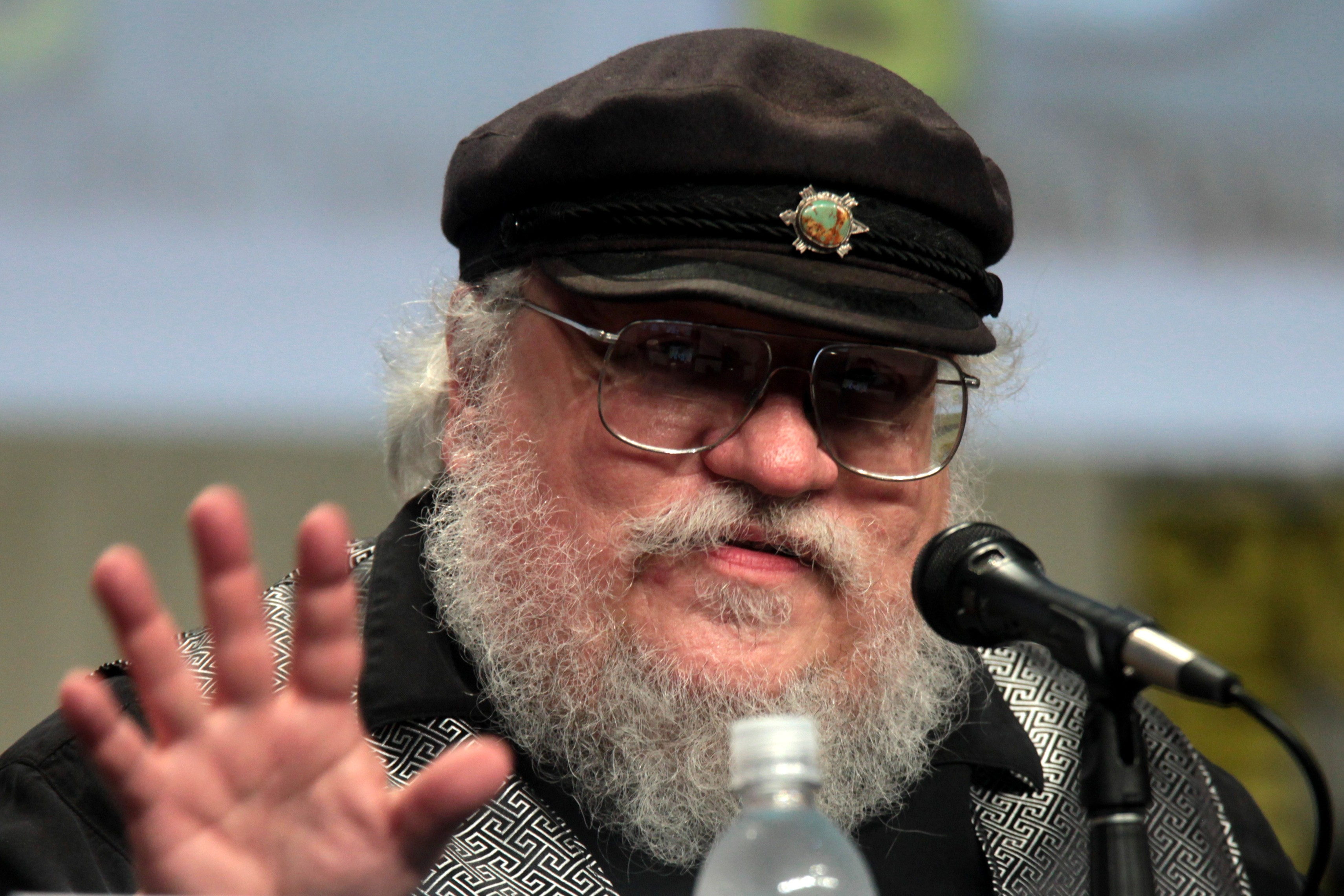 George R. R. Martin na Comic Con de 2014, em San Diego (Foto: Gage Skidmore | flickr | creative commons)