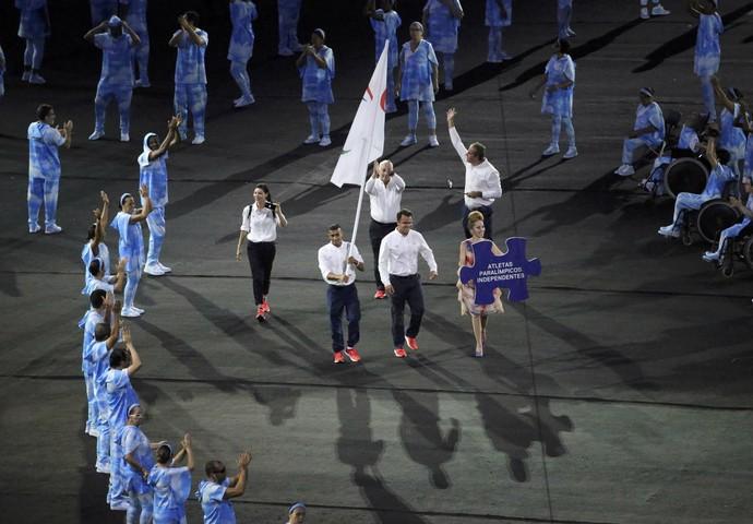Refugiados têm delegação na Paralimpíada do Rio (Foto: Reuters)