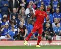 """Firmino marca duas vezes, e Liverpool goleia o campeão em """"novo"""" Anfield"""