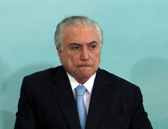 Michel Temer (Foto: Givaldo Barbosa / Agência O Globo)