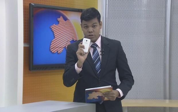 Apresentador Thiago Rogeh fala sobre o novo quadro do Bom Dia Amazônia (Foto: Reprodução TV Acre)