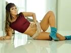 Bailarina dá dicas de dieta e diz: 'Tenho jeitinho sensual, mas não sou mulherão'