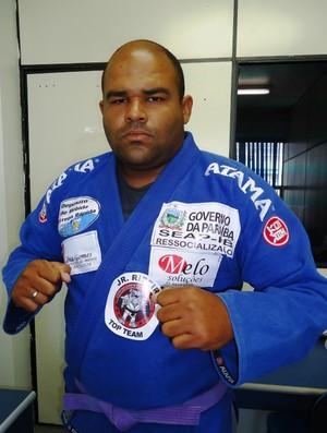 golias, apenado, jiu-jitsu, paraíba (Foto: Divulgação / Seap)