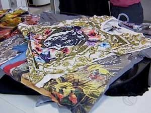 Quem usa numeração maior tem buscado roupas com estampas (Foto: Reprodução/TV Integração)