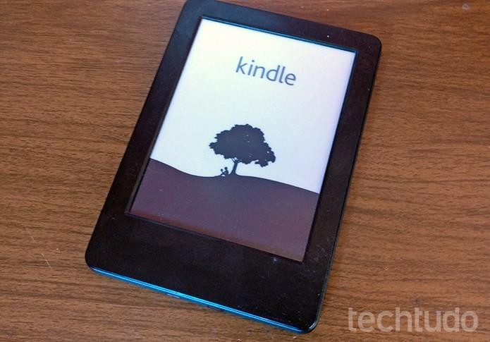 Kindle pode ser reiniciado em caso de travamento ou lentidão  (Foto: Elson de Souza/TechTudo)