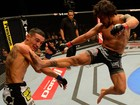 Bermudez vence duelo equilibrado contra Holloway (Getty Images)