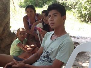 Um dos sobreviventes, Ronério da Silva e Silva, 20 anos. (Foto: Divulgação/PC de Rurópolis)