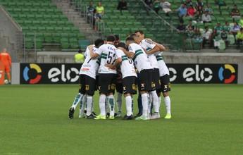 Coritiba relembra último confronto na Arena para jogar contra o Palmeiras