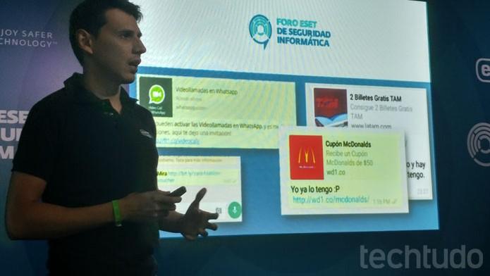 Videochamadas e promoções costumam ser os golpes mais comuns no WhatsApp (Foto: Melissa Cruz / TechTudo)