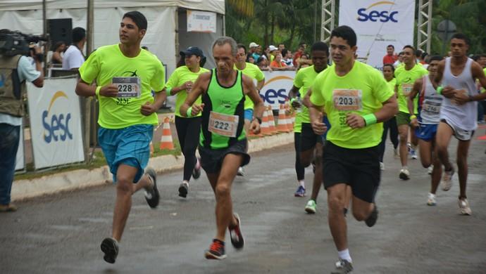 Meia Maratona Sesc de Revezamento será em Gurupi (Foto: Divulgação/ Ascom Sesc TO)