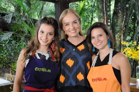 Angélica com Lorena e Bianca Comparato  (Foto: Deborah Montenegro)