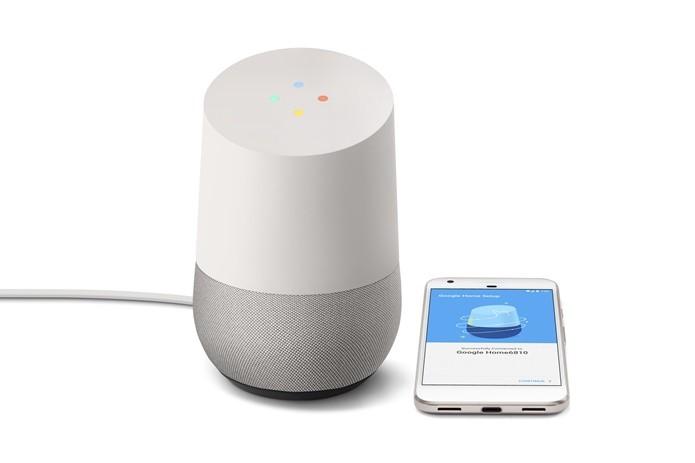 Google Home toca músicas do seu smartphone