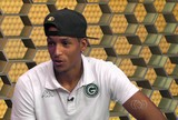 Zagueiro Deivid comemora boa  estreia pelo Goiás na final do Goianão