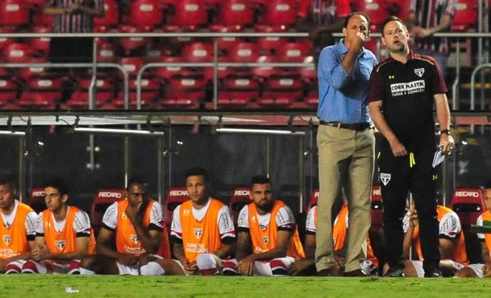 São Paulo x São Bento Rogério Ceni Michael Beale (Foto: Maurício Rummens/Fotoarena/Estadão Conteúdo)