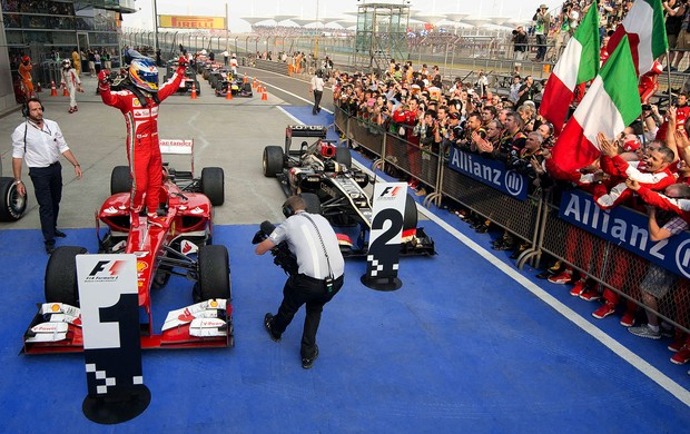 fernando alonso ferrari gp da China (Foto: Agência AFP)