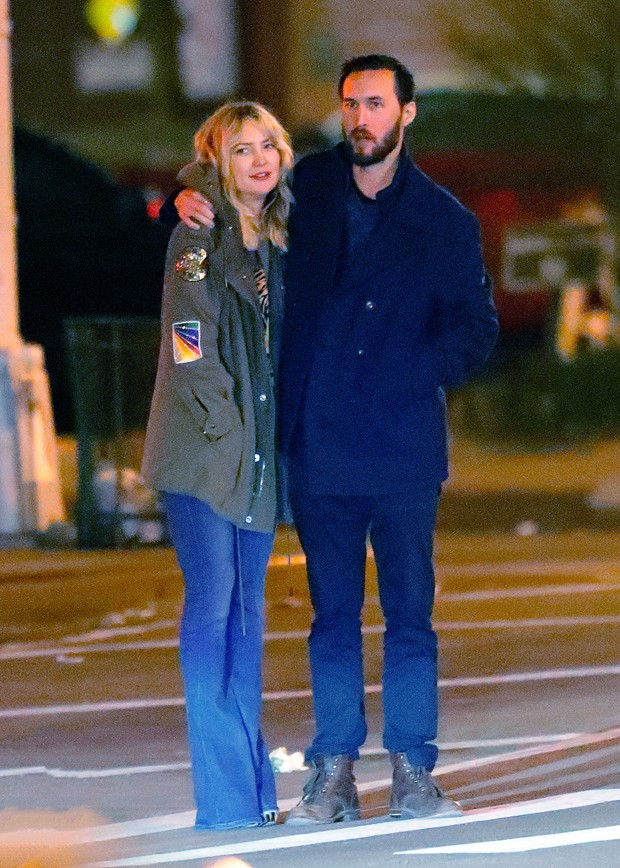 Kate Hudson e Danny Fujikawa (Foto: The Grosby Group)