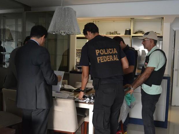 Operação realizou buscas em 12 residências, em duas cidades (Foto: Eduardo Júlio / MP-MA)