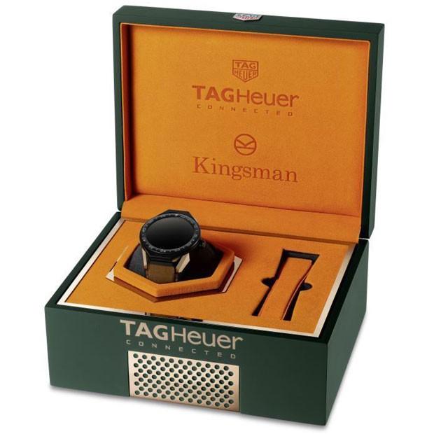 TAG Heuer Connected Modular 45: Edição Especial Kingsman (Foto: Divulgação)