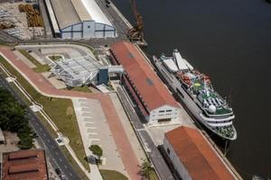 Porto de Recife obras COpa (Foto: Portal da Copa / Divulgação)