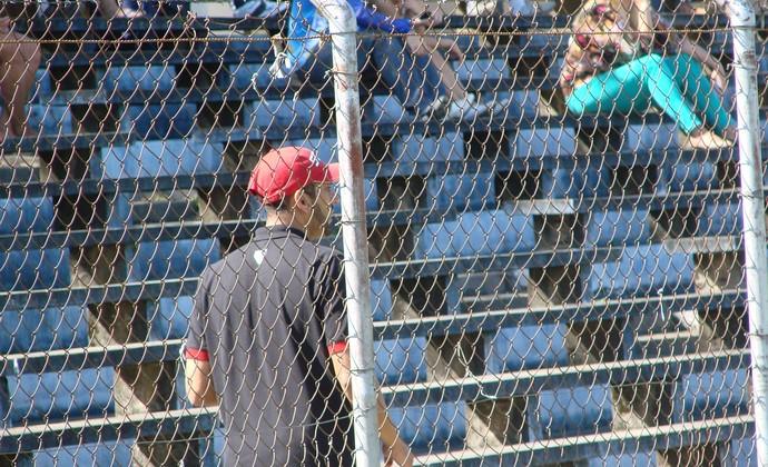 Preparador de goleiros São Paulo futebol feminino (Foto: Felipe Kyoshy)