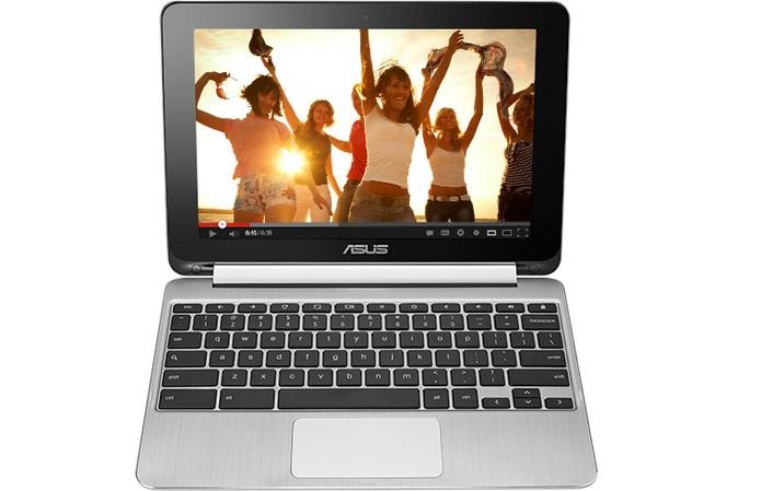 Asus Chromebook Flip C100 tem design fino e leve (Foto: Divulgação/Asus)