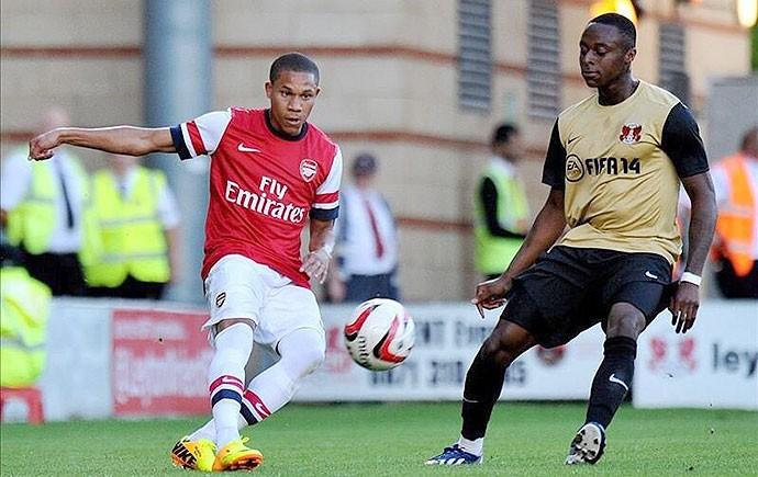 Wellington Silva, Arsenal (Foto: Divulgação)