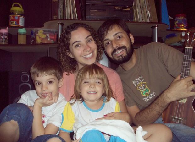 familia_sem_TV (Foto: Arquivo pessoal)